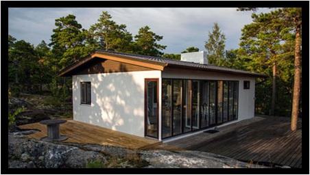Installation récente - Un habitat de loisirs en pleine nature, Hanko, Finlande
